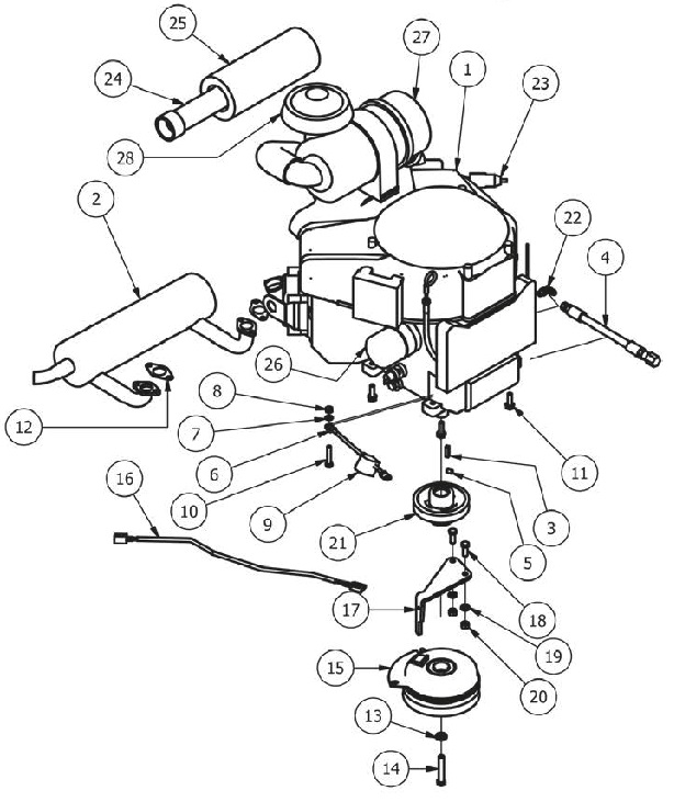 Snap Bad Boy Mower Parts Diagrams Bad Free Engine Image For User